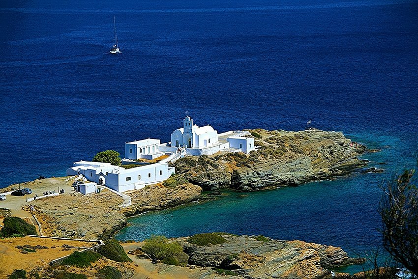 CHURCE AND SEA
