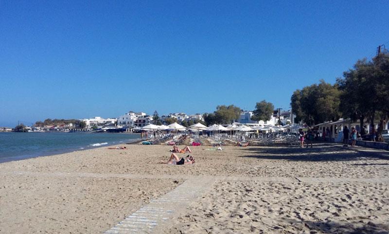 UMBRELLAS IN THE BEACH